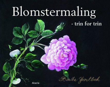 Blomstermaling - trin for trin